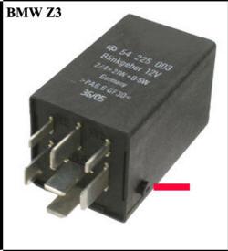 BMW Z3 Hazard Flasher Relay bmw z3 intermittent turn signal fuse box 3 ph at crackthecode.co